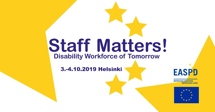 Staff Matters! Disability Workforce of Tomorrow -konferenssi
