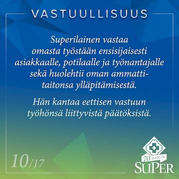 superilainen on vastuullinen